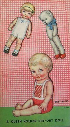 Paper Dolls~Barbara and Baby Betty - Bonnie Jones - Picasa Web Albums
