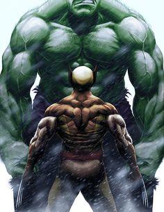 Hulk vs Wolverine, o que esperar do carcaju que em sua primeira aparição nos quadrinhos enfrentou um Golias Esmeralda?