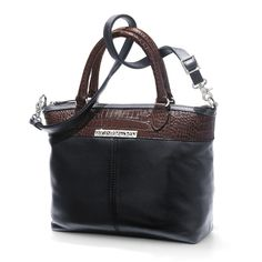 Definitely a Wardrobe Essential, the Tristan Satchel completes any look essentially in croco! Brighton Bags, Baggage, Beautiful Bags, Satchel, Handbags, Purses, Stylish, My Style, Bracelets