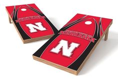 Nebraska Cornhuskers Cornhole Board Set - The Edge