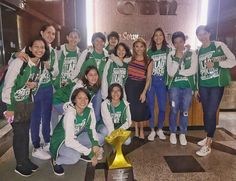 gretsfullidoPromise naka-tip toe na ako niyan! The DLSU Lady Spikers making the rounds in different shows of ABS-CBN! Champs, Volleyball, Abs, Instagram Posts, How To Make, Crunches, Abdominal Muscles, Volleyball Sayings, Killer Abs