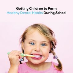 DON'T let a busy school schedule throw your kids off their oral care routines! Make it fun, and easy for them. Come up with a technique, a contest or rewards to have them convinced! Singing spin brushes are also great!