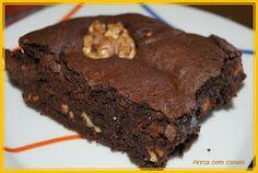 Arroz com canela: Brownie de chocolate do Jamie Oliver
