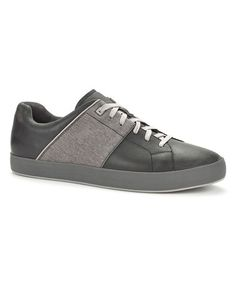 Another great find on #zulily! Black Aratus Leather Sneaker - Shoes that are both comfortable and attractive define TSUBO's unique style