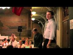 Amazing surprise rendition of Les Miserables' 'One Day More' for a pair of musical-loving newlyweds during their wedding dinner…and boy do they have some talented friends!