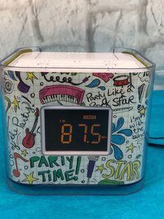 VENTURER iPod Cube Dual Alarm Clock Radio CR8030iE5 | Consumer Electronics, Portable Audio & Headphones, iPod, Audio Player Accessories | eBay! Radio Alarm Clock, Digital Alarm Clock, Ipod, Office And School Supplies, Cube, Audio, Ebay, Christmas, Xmas
