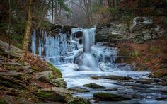 Frozen Waterfall - Waterfalls Wallpaper ID 2067361 - Desktop Nexus Nature