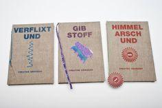 Kommunikationsdesign, Coverdesign, Nähen, Stoffe, Cover, Grafikdesign, Handmade, DIY, Handarbeit, Werbeagentur, Grafisches Design, Buch