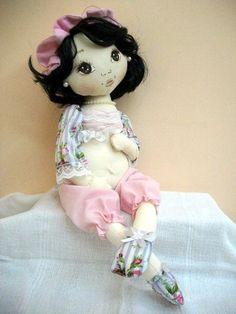 Eu Amo Artesanato: Boneca grávida de feltro