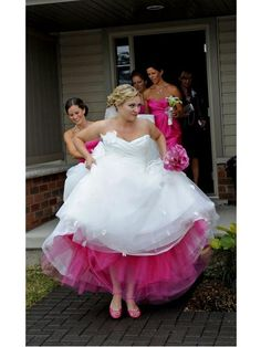 Pink Petticoats « David Tutera Wedding Blog • It's a Bride's Life • Real Brides Blogging til I do!