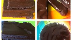 Brownie cu ciocolată și mascarpone Cream Cake, Pudding, Desserts, Cakes, Beauty, Mascarpone, Custard Cake, Tailgate Desserts, Cream Pie