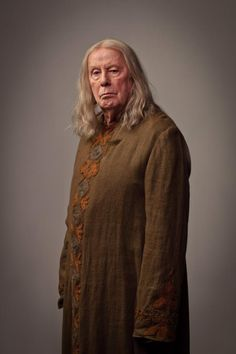 """""""Merlin"""" Series 5 Promotional Pictures - Richard Wilson as Gauis"""