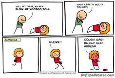 Blowup Voodoo Doll Tags Cyanide And Happiness Funny Blowjob Funny