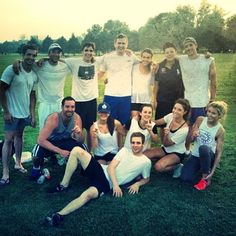 Ultimate Frisbee team from 2 summers ago.. #whiskeydiscs