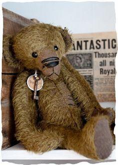 vintage Bertie Bear
