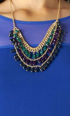 #chandelier #bib #chain #necklace on www.shoppublik.com