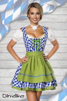Klassisches #Trachten #Minidirndl blau-grün - My-Kleidung #Online #shop http://www.my-kleidung.de/sexy-kostueme/dirndl-oktoberfest-outfits/