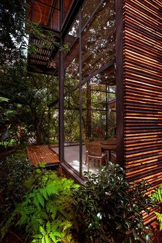 Architecture Design, Led Exterior Lights As Green Renovation Vegetation And Open Space: Incridible Private Garden in Mexico Accommodating Fo. Design Exterior, Interior And Exterior, Future House, My House, Rest House, Private Garden, My Dream Home, Interior Architecture, Landscape Architecture