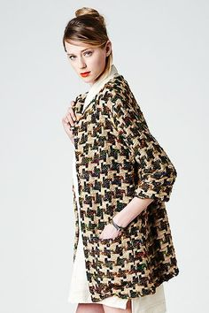 Mary Meyer Crazy jacket in recycled silk fabric that was handwoven by artisans in India.
