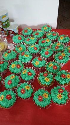 Cupcakes prato fiorito!