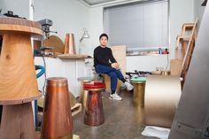 After a decades-long dormancy, South Korea's vibrant design community is bursting onto the scene Foam Factory, Korean Design, Korean Art, Architectural Digest, Seoul, Waves, Scene, Ocean Waves, Beach Waves