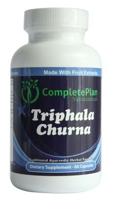 Liver Cleanse and Liver Detox Triphala Churna Fruit Extract 1000 MG