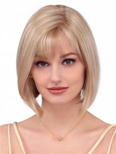 Linda Wig by Louis Ferre: Layered to frame the face this chin length bobbed style never ceases to be in popular demand.
