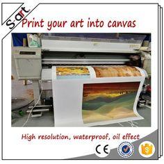 Wholesaler high resolution custom canvas art prints printed painting