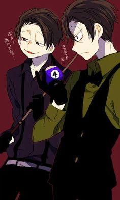 Ichimatsu & Choromatsu Osomatsu San Doujinshi, Ichimatsu, Manga, Game Character, Webtoon, One Pic, My Little Pony, Anime Guys, Brother