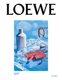 An image from Loewe's fall-winter 2017 campaign captured by Steven Meisel