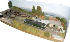 """Micro O gauge layout by Marc Smith, 3' 6"""" long!"""