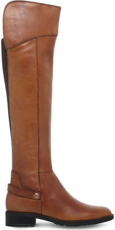 Carvela Comfort Ladies Brown Vivian Knee-High Leather Boots
