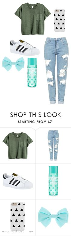 """//My Style// -82-"" by ashyrosepetal on Polyvore featuring Topshop and adidas"