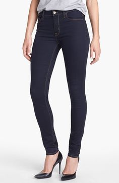 Hudson Jeans 'Nico' Super Skinny Jeans (Storm) available at #Nordstrom