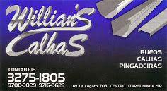 Willian's Calhas