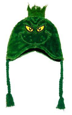 Dr. Seuss's The Grinch Fuzzy Laplander Peruvian Cap Concept