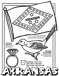 Illinois State Symbol Coloring Page by Crayola Print or color