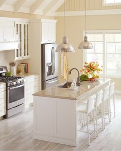 Choosing the right countertop for your kitchen can be daunting given the many styles and material options. Here's the lowdown on two of our favorite countertop materials from Martha Stewart Living at The Home Depot -- quartz and Corian -- to help you make the choice that best suits your home and lifestyle.
