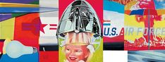 This is only a portion of F-111 (1965) by James Rosenquist. It's a painting. And its 86 feet long.