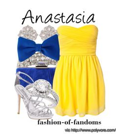 Anastasia party dress