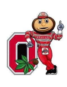 Ohio State Buckeyes Wall Art 3 D Brutus clipart Ohio State Football, Ohio State University, Ohio State Buckeyes, Ohio State Mascot, Ohio State Logo, Ohio Stadium, Buckeyes Football, College Football, American Football