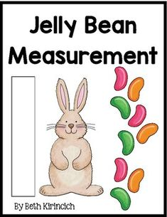 Teaching measurement with jellybeans? Yes, please! Print, laminate, cut, give students jelly beans and let the measuring begin. A recording sheet is included for students to document their measurements. I like to do this activity in a small math group so I can monitor the measurement and the sugar consumption!