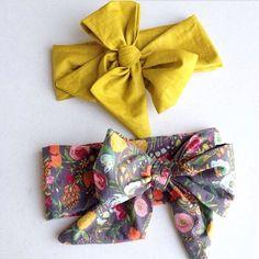 Baby Head wrap / Turban / Headband / Large headwrap / by guguberry
