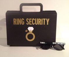 Gafas anillo portador maletín regalo del portador del