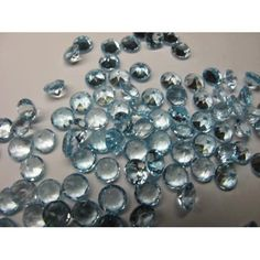 #dashrath_international Natural Sky Blue Topaz Round Cut Size- 8mm Pieces- 10pcs Price- $ @74.99 paypal.me/DASHRATHINT/74.99 Blue Topaz does occur in nature, but is rare and almost always light color. Colorless or lightly colored topaz goes through processes that create the blue color #topazgemstone #naturalgemstone #loosegemstone #skybluetopaz #worldwide #gemstoneshop