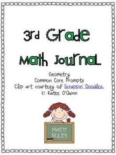 Common Core Math Journals Grade 3. One for everyday!
