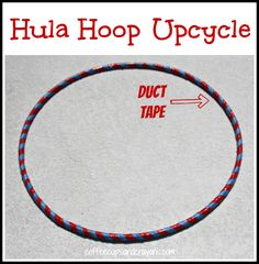 Duct Tape Hula Hoop Craft for Kids How to make a hula hoop more boyish and or fix it