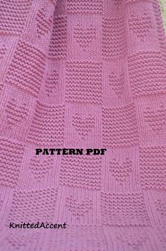 Baby Blanket PATTERN, only in ENGLISH, written instructions with diagram. Baby Blanket PATTERN written instructions with diagram. Baby Knitting Patterns, Free Baby Blanket Patterns, Afghan Patterns, Crochet Blanket Patterns, Baby Patterns, Free Knitting, Simple Knitting, Wool Baby Blanket, Knitted Baby Blankets