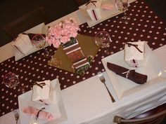 Chic Impression: Pink & Brown Bridal Shower