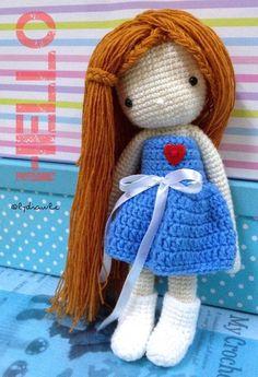 My crochet doll no.1